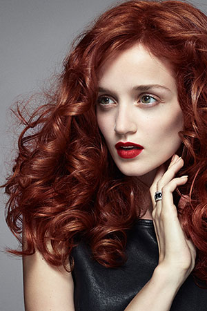 Red Hair Color, Lowlights, Salon Piper Glen, Hair Salon, Charlotte, NC