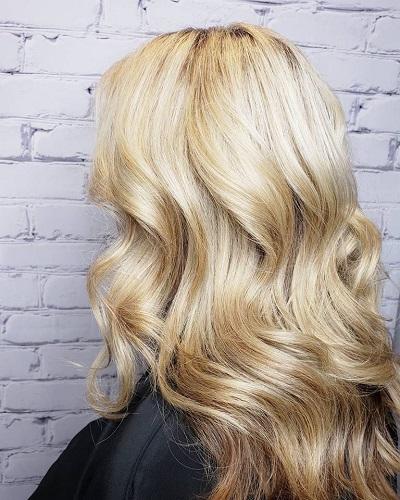 Blonde Hair Color, Salon Piper Glen, Charlotte, North Carolina