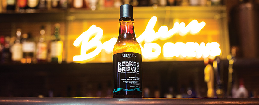 Redken Brews hair products for men, hair salon, Charlotte, North Carolina