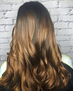 highlights for brown brunette hair charlotte