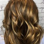 soft caramel balayage by erika at top hair salon in Charlotte NC