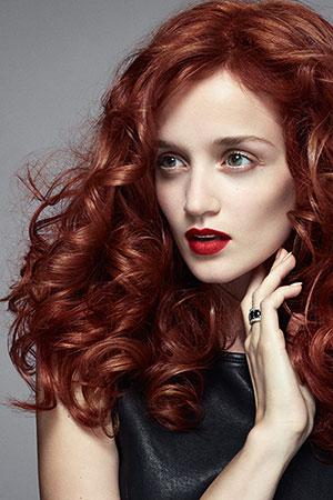 Red Hair Color, Lowlights, Salon Piper Glen, Hair Salon, Charlotte, NC