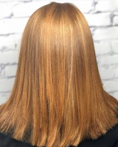 copper hair color, red hair colour, salon piper glen, hair salon, Charlotte, NC