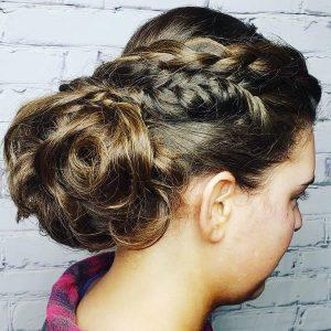 wedding hairstyles braids updos charlotte