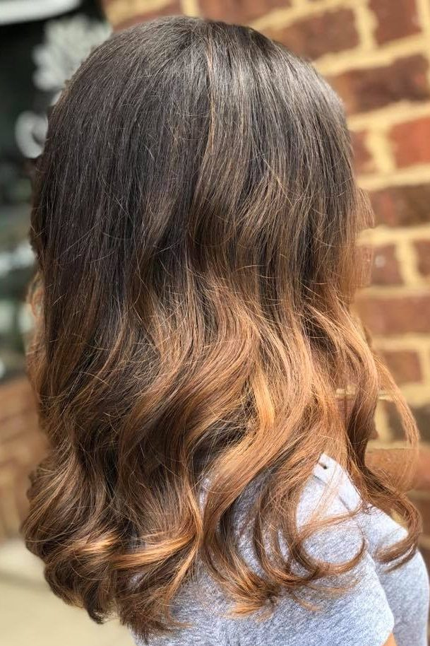 Balayage ombre hair color, Piper Glen Hair Salon Charlotte