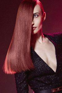 Dark red hair color, plum hair color, hair colour salon, Salon Piper Glen, Charlotte, NC