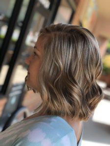 blonde highlights charlotte