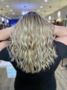 blonde balayage charlotte