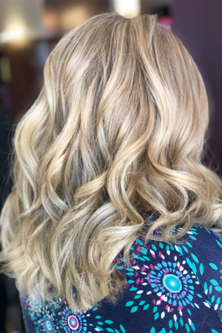 balayage highlights Salon Piper Glen in Charlotte, NC