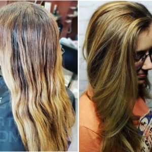 color correction before after charlotte