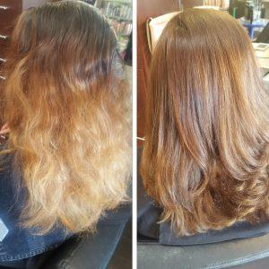 hair color correction color balance charlotte