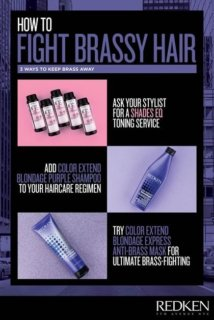 How To Avoid Brassy Hair Color
