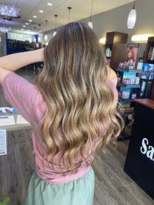 handpainted hair