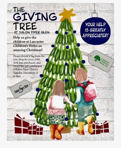 the giving tree salon piper glen